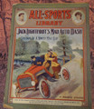 1905 ALL-SPORTS LIBRARY #24 SCARCE ATHLETIC STREET & SMITH DIME NOVEL  STORY PAPER