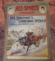 1905 ALL-SPORTS LIBRARY #22 SCARCE ATHLETIC STREET & SMITH DIME NOVEL  STORY PAPER