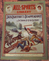 1905 ALL-SPORTS LIBRARY #21 SCARCE ATHLETIC STREET & SMITH DIME NOVEL  STORY PAPER