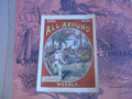 SCARCE ALL AROUND WEEKLY #10 A FRANK TOUSEY DIME NOVEL STORY PAPER