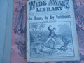 1896 WIDE AWAKE LIBRARY # 1261 FRANK TOUSEY DIME NOVEL STORY PAPER