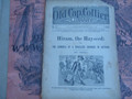 1899 OLD CAP COLLIER #817 FRED DIME NOVEL STORY PAPER
