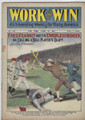 1907 WORK AND WIN 595 BASEBALL COVER FRANK TOUSEY DIME NOVEL