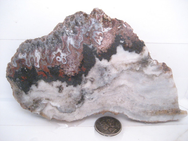 Cady Mountain Seam Agate`,