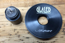 Large Base for Glaser Screw Chuck  (shown on left)