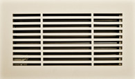 Linear register. Paint grade. Front.