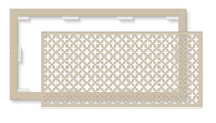 FLAT FRAME CASPIAN LAZYVENT RETURN FILTER GRILLE