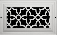 """16""""x6"""" Heritage Unfinished Grille; O.D: 18""""x8"""""""
