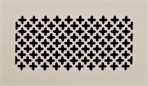 """Caspian grille. Paint grade. Shown in 12"""" x 6"""""""