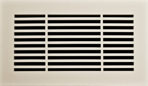 Linear grille. Paint Grade.