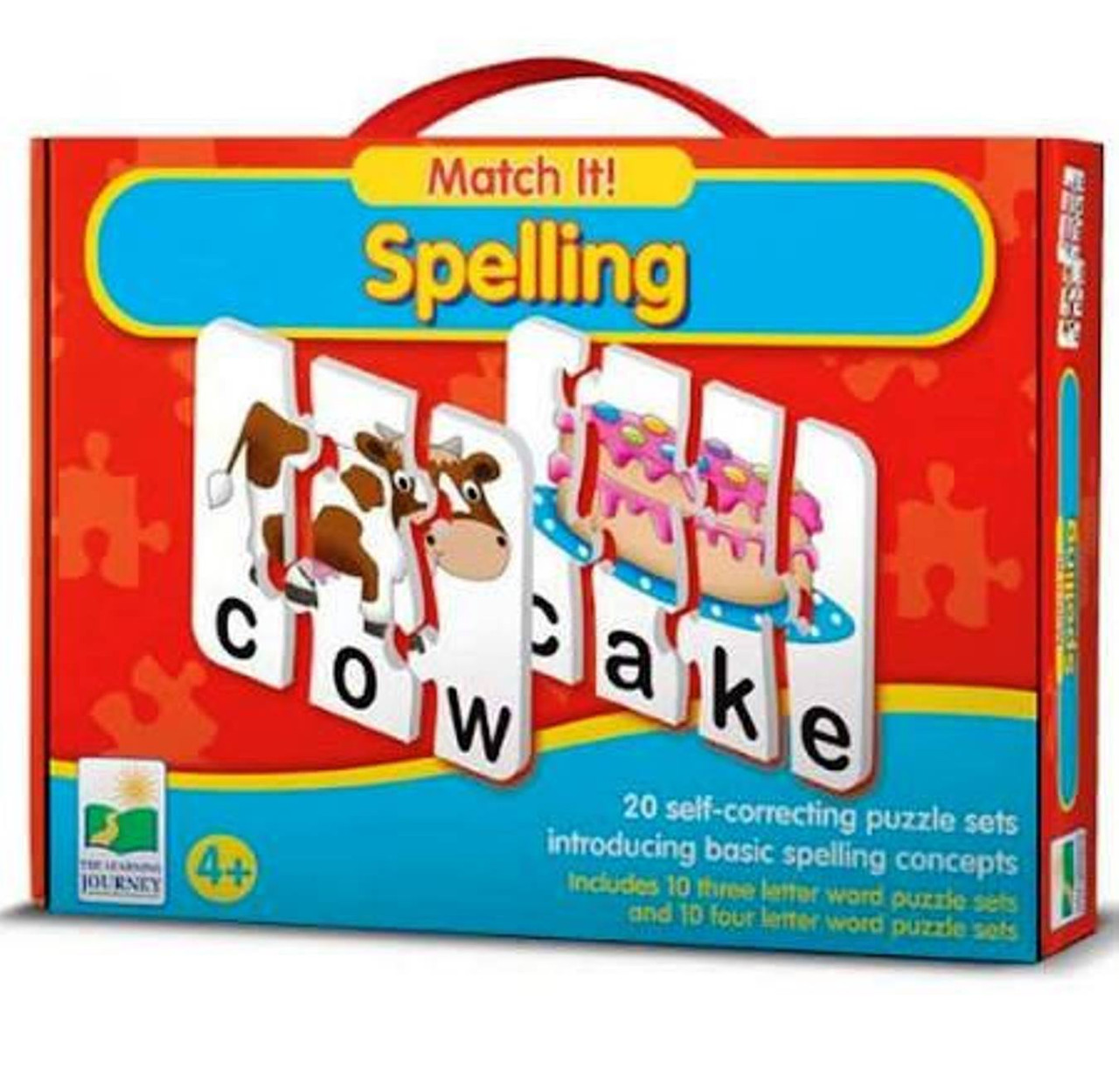 The Learning Journey: Match It! - Spelling - 20 Self ...
