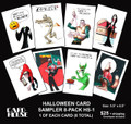 Halloween Card Sampler  HS-1