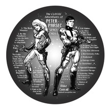 The Classic Adventures of Peter Parsec, Space Cadet. Straight from the pages of The Pointer magazine, from the first episode to the last, featuring Peter Parsec, Carrie Sabres, and their friends on satirical adventures from their base of operation, the United Space Military Academy. All Black and White except for the final chapter, which is in full color.