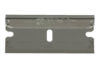 GEM Carbon Steel Single Edge 100 count box