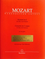 Mozart Concerto in C for Oboe and Orchestra