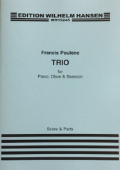 Poulenc Trio for Piano, Oboe & Bassoon