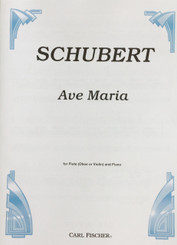 Schubert Ave Maria for solo Oboe