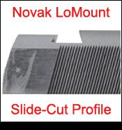 1911 Slide Cut Dovetail Profile for Novak LoMount Sight