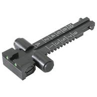 AK Kensight Rear Sight Trijicon Tritium insert - Night Sights AdjustableTangent AKM  AK-47