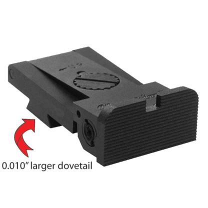 "BoMar Series 1911 Kensight Oversized Dovetail Sight (0.010"")"