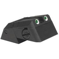 Kensight DAS 1911 Defense Adjustable Rear Sight Tritium insert - Night Sights Serrated Blade