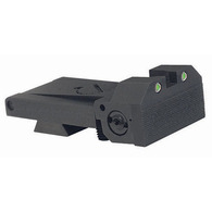 BoMar BMCS 1911 Kensight Sight Trijicon Tritium insert - Night Sights  with Beveled Blade
