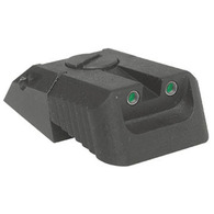 Kensight DAS 1911 Defense Adjustable Rear Sight Tritium insert - Night Sights Recessed Blade