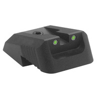 Kensight DFS 1911 Defense Fixed Rear Sight Tritium insert - Night Sights - Recessed Blade