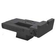 Kensight Compact Adjustable Sight with Rounded Blade
