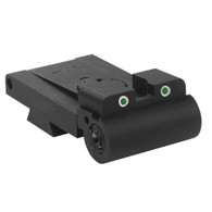 Rollo 1911 Kensight Rear Sight Trijicon Tritium insert - Night Sights Anti-Snag Blade (860-098)
