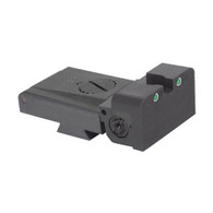 LPA TRT Kensight 1911 Sight Trijicon Tritium insert - Night Sights with Rounded Blade