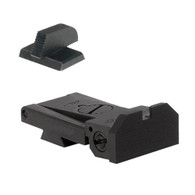 """BoMar BMCS 1911 Kensight Sight Set with Beveled Blade - Serrated 0.200"""" Front Sights (960-005)"""