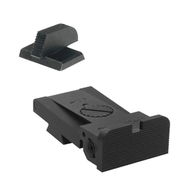 """BoMar BMCS 1911 Kensight Sight Set with Rounded Blade - Serrated 0.200"""" Front Sights (960-003)"""