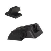 "Kensight DAS 1911 Defense Adjustable Rear Sight Set Recessed Blade - Serrated 0.200"" Front Sights (960-616)"
