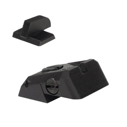 "Kensight DAS 1911 Defense Adjustable Rear Sight with Serrated Blade and Serrated 0.200"" Front Sight (960-618)"