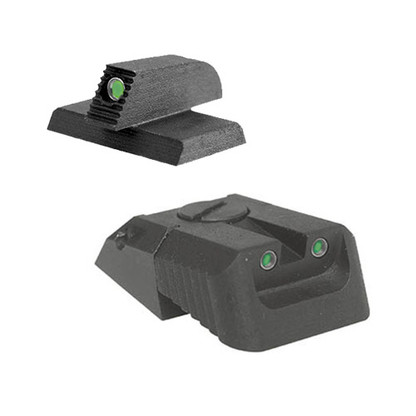 "Kensight DAS 1911 Defense Adjustable Rear Sight Set Tritium insert - Night Sights with Recessed Blade - 0.200"" Front Sight (960-626)"