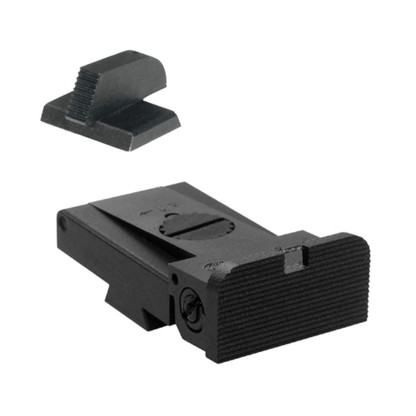 """LPA TRT Kensight 1911 Sight Set with Rounded Blade and Serrated 0.200"""" Front Sight (960-053)"""