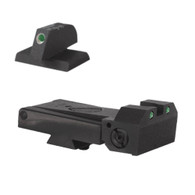 Kimber Adjustable Kensight 1911 Sight Set Trijicon Tritium insert - Night Sights - matching Front Sight (960-263)
