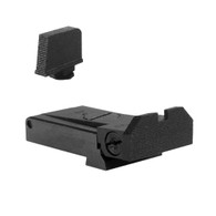 """Certain Glock Adjustable Kensight Sight Set with Beveled Blade and 0.315"""" Front Sight (960-817)"""