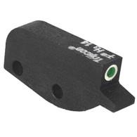 Tritium front sight fits Colt® Python, green tritium insert w/white outline