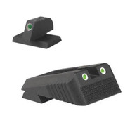 KCS - Kimber Carry Sight Set, Fixed tritium dot rear sight with Kimber® dovetail cut, w/serrations