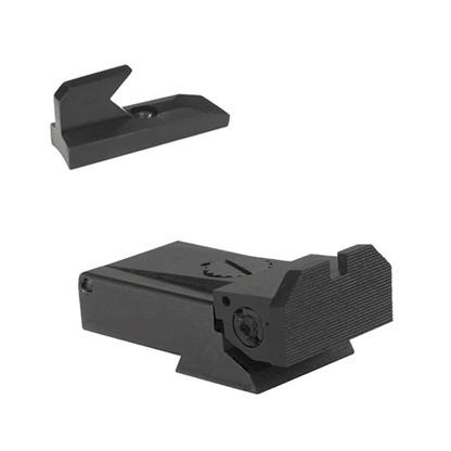 RugerÌ´å¬ MKII and MKIII, beveled blade w/serrations - Includes Undercut patridge front sight