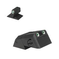 Kensight Springfield ®  Tritium Rear, Serrated Blade W/ 0.230'' Tall Tritium CONTOURED base Front