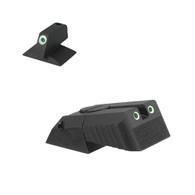 Kensight Springfield ® Tritium Rear, Serrated Blade W/ 0.200'' Tall Tritium CONTOURED base Front