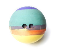The Larry Lite: 10 lb, rubber ball the size of a bowling ball - 2 Hole