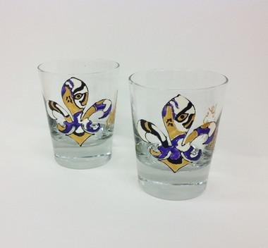 Fleur de Tigre Rocks Glass - Lagniappe Frame Shoppe and Fleur deSign ...