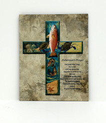 Fisherman's Prayer Cross Board