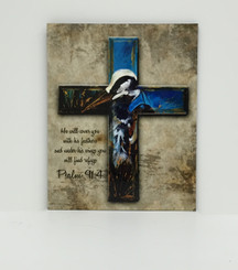 Blue Heron Cross Board