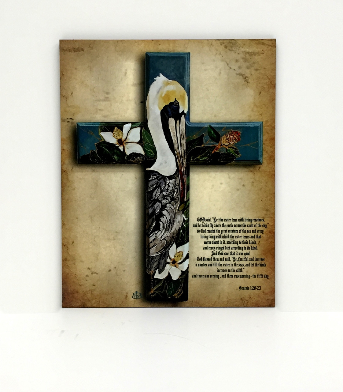 Pelican Cross Board Lagniappe Frame Shoppe And Fleur