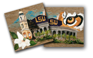 Coaster_Lsustadium/ campanile set